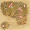 【ESO】リフトのパブリックダンジョン「獅子の巣」、各チャンピオン・ボスの居場所の画像