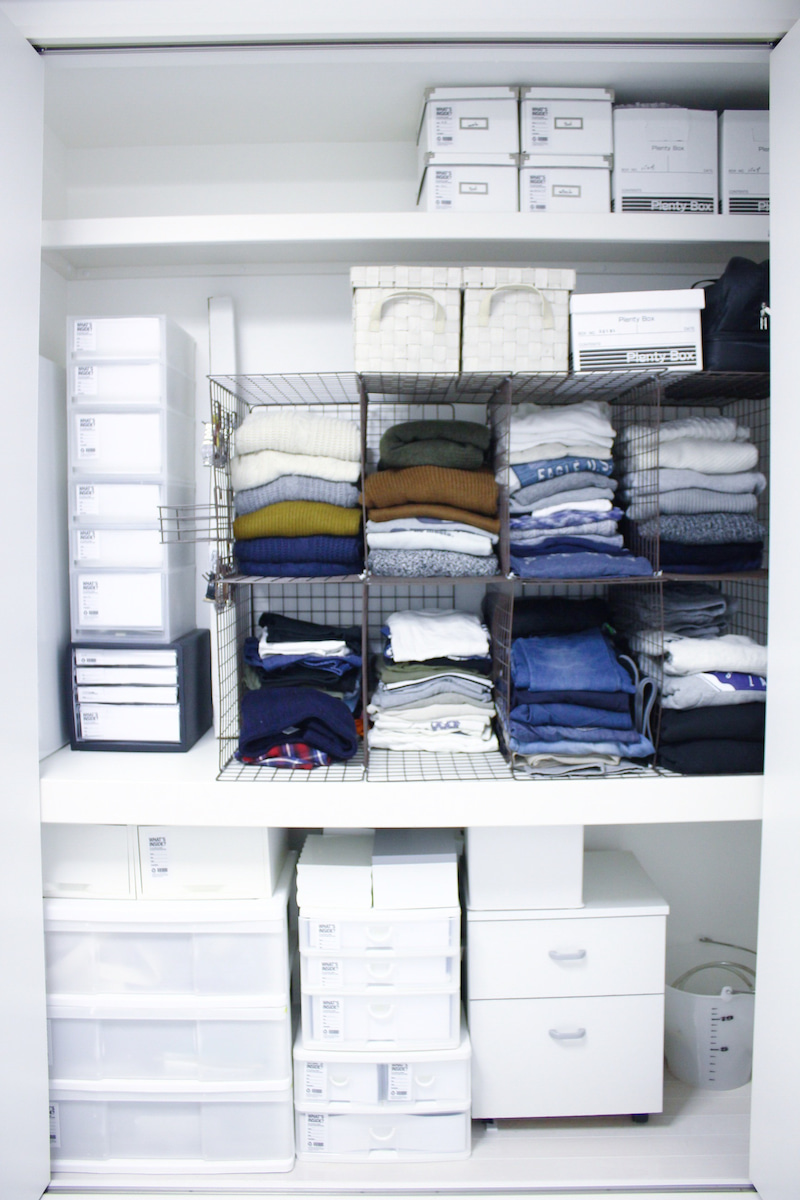 ズボラさんの衣類収納。 | my home modern interior 美しいインテリアと