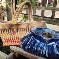 フリンジバッグの作り方の記事に添付されている画像