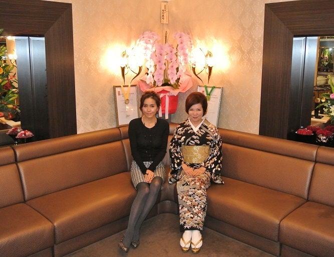 銀座くらぶ由美 杉本彩さん&伊藤由美ママ3