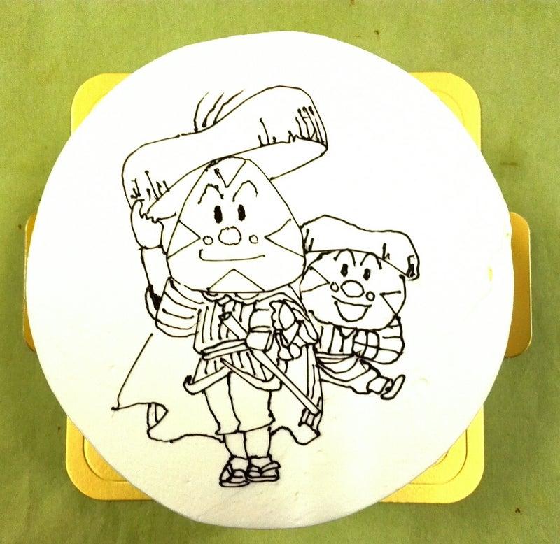 イラストキャラクターケーキおむすびまんです 岐阜市の洋菓子 パティスリー旬菓のブログ