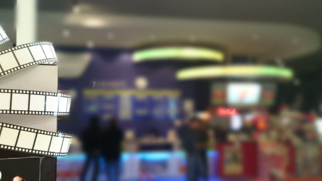 映画館の入り口の様子