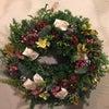 クリスマスリースレッスンKana fleurAsa Kafeの画像