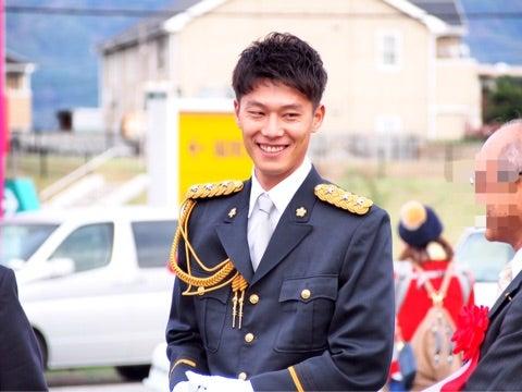 ♡1日警察署長の岩嵜翔投手♡ | I ...