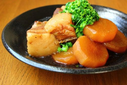豚肉と大根の黒糖角煮02