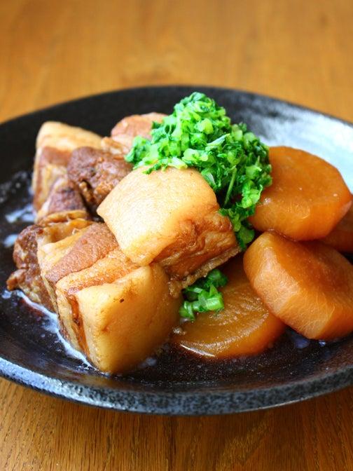 豚肉と大根の黒糖角煮03
