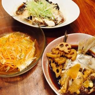 魚を食い尽くす〜あら煮、清蒸(チンジョン)、南蛮漬け〜の画像