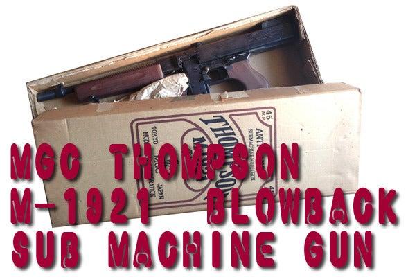 MGC トンプソン M1921 | 徒然草