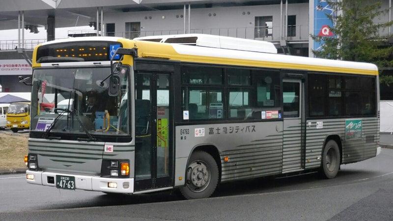 富士急シティバスの路線車