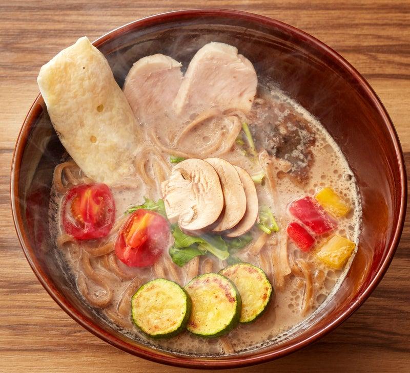 キノコのベジ白湯ソバ