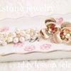 ♡【R.stone jewelry】1dayレッスン作品*なばなの里♡の画像