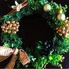 クリスマスリースレッスンのご案内の画像