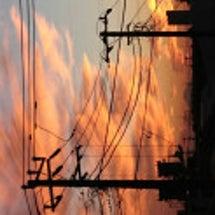 地震雲写真