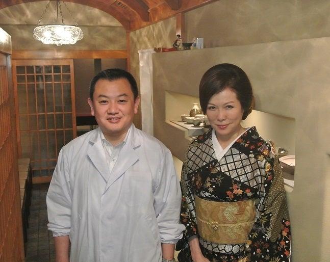 銀座小十 奥田透ご主人&伊藤由美ママ