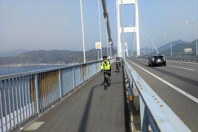 しまなみ海道_自転車専用道路