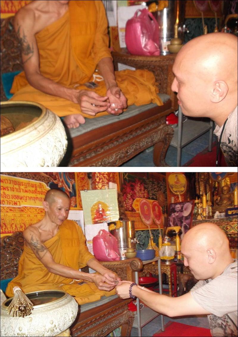 僧侶ティオラポン氏からシワカコマラパ像授かる!12
