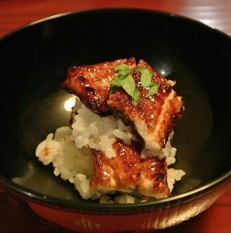 銀座小十 琵琶湖の天然鰻丼