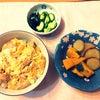 生徒様 力作❣️ 親子丼  エビマヨ  鶏の唐揚げの画像