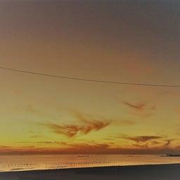 画像 南知多 内海 黄金色の雲鳥 の記事より