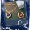 X'masプレゼントにオススメ★幸運を呼ぶ「馬蹄のネックレス」★の画像