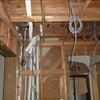 電気配線・換気工事 セルフビルドで断熱工事、給排水工事の画像