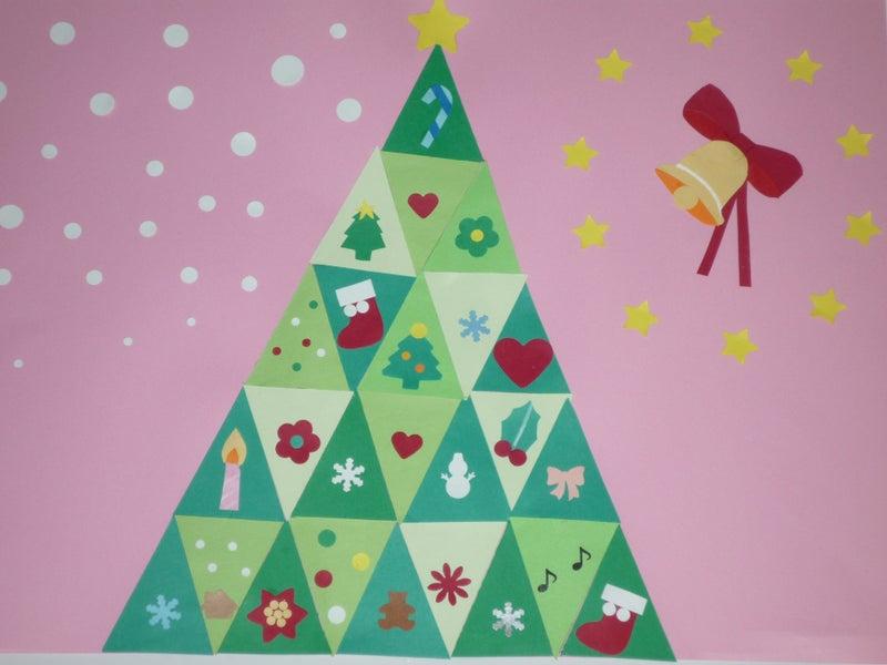 「クリスマス 画用紙 壁」の画像検索結果