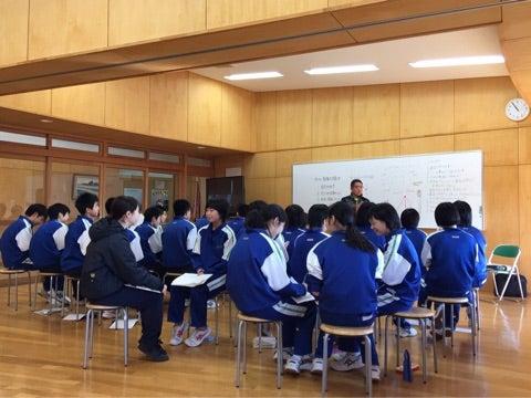 母校・花泉中学校でメンタル | ...