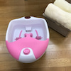 新メニュー☆水素水を使った足浴でプチリラクゼーションの画像