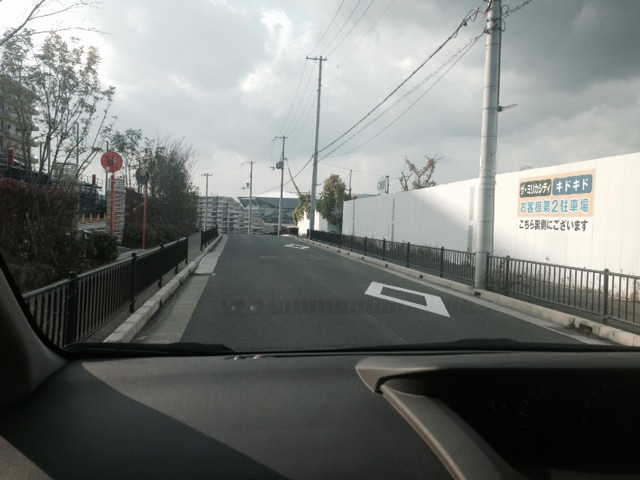ミリカヒルズ付近にて 北大阪ペーパードライバー