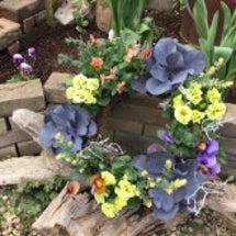 寄せ植えの花材選び