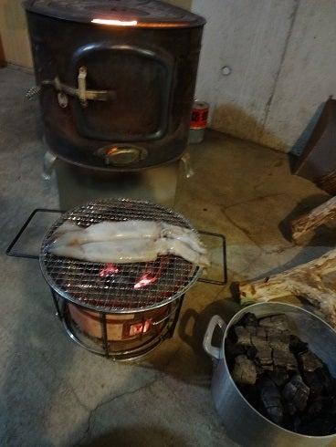 薪ストーブの燠(おき)は炭になるか! | ろかずのブログ