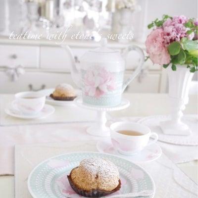 主人とおうちティータイム♡芦屋エトネのシュークリームの記事に添付されている画像