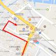 明日都浜大津への道順…