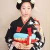 振袖に合わせて☆古典的な日本髪ヘアの画像