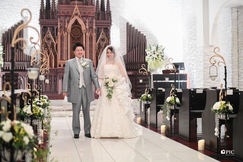 憧れのキリスト教式結婚式 結婚式撮影ならpicへ あなたの10年後20