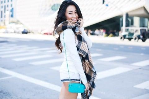 ロサンゼルスの冬ファッション