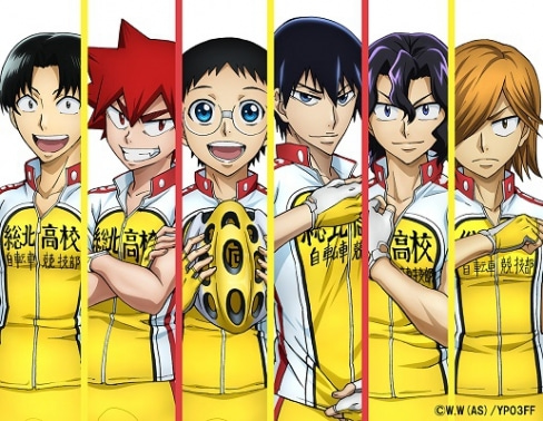 あずきのアニメ日和「総北高校自転車競技部チームプレゼンテーション」のLINE LIVE生中継が決定