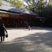 熱田神宮に行ってきま…