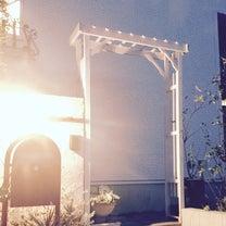 階段入口にパーゴラのアーチを設置しました(*´︶`*)の記事に添付されている画像