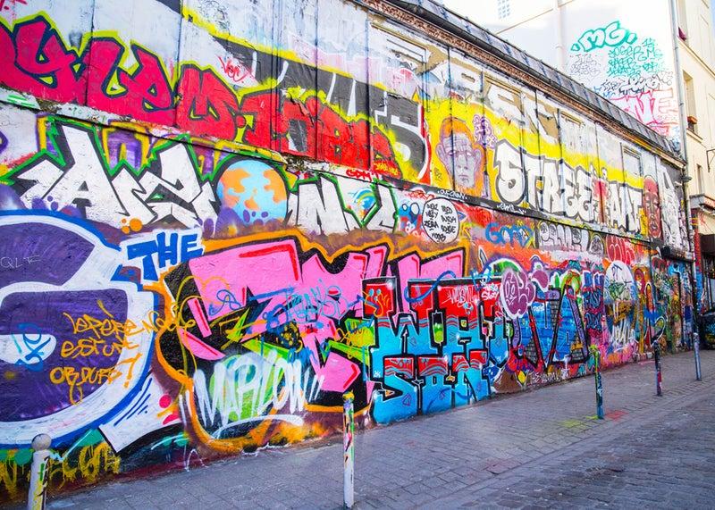 ここはパリ⁉ ストリートアートの...