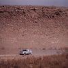 やっとレースも後半戦に入った・・・地獄のモーリタニア砂漠の画像