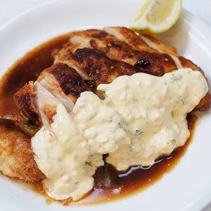 鶏胸肉のビックなチキン南蛮の画像