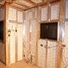 断熱・気密工事・床合板敷き完了の画像