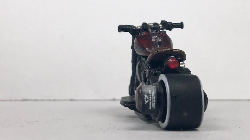 HotwheelsCustomHDFatBoyリア