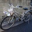 自転車のメンテナンス…