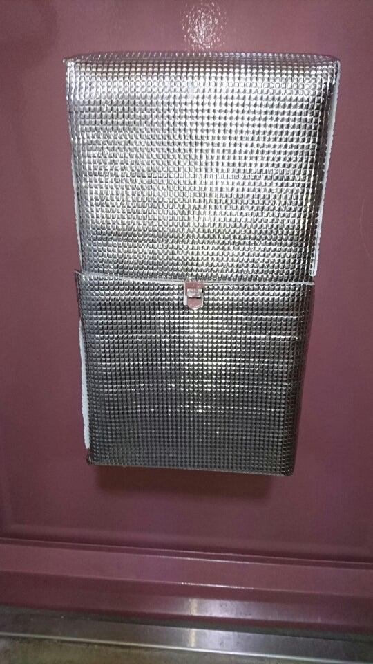 防寒対策玄関ドアのポストを100均でカバー Mintoの小部屋