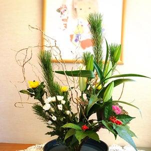 お正月花の画像