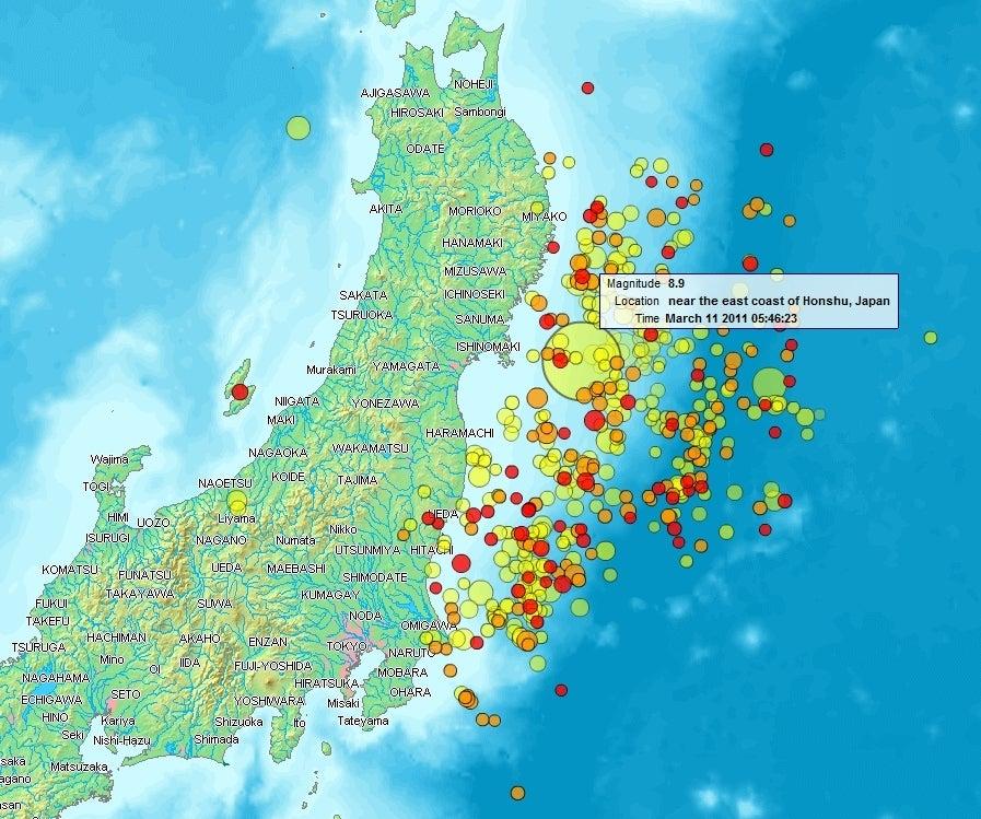 断層近くの原子力発電所は非常に危険/火山活動の活発化
