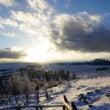 冬の美ヶ原へ、大雪原…