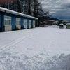 大雪でしたが、今日からスタートです。の画像